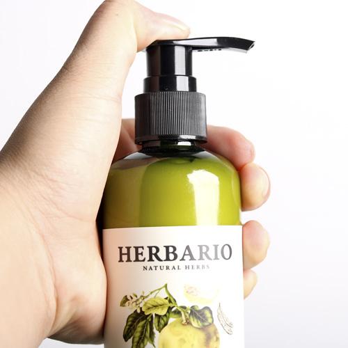 Dầu xả mềm mại óng ả tóc HERBARIO chiết xuất vỏ bưởi bồ kết